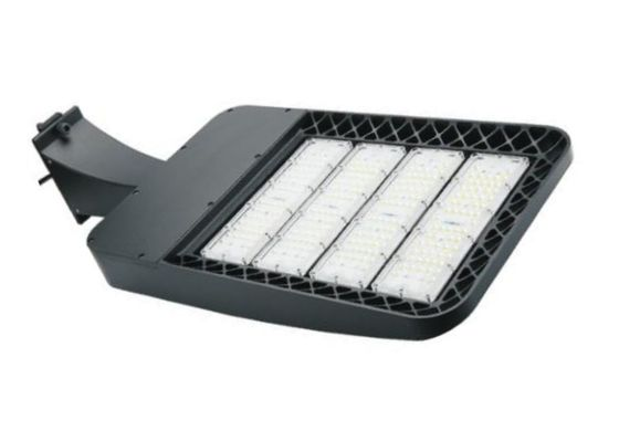 ประเทศจีน Commercial Led Parking Lot Light Fixtures , 85-265v Led Graden Light Energy Saving ผู้จัดจำหน่าย
