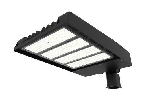 ประเทศจีน 100W IP67 14000 Lumen Led Parking Lot Lights Aluminium Housing For Main Road Lighting ผู้จัดจำหน่าย